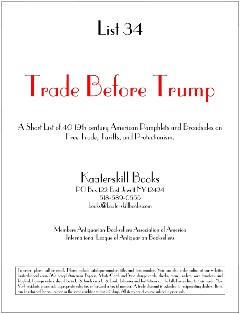 List 34: Trade before Trump