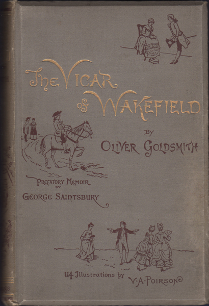 The Vicar of Wakefield. Oliver Goldsmith.