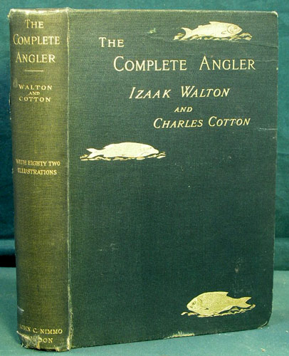 John Cotton Books: The Complete Angler Or The Contemplative Man's Recreation