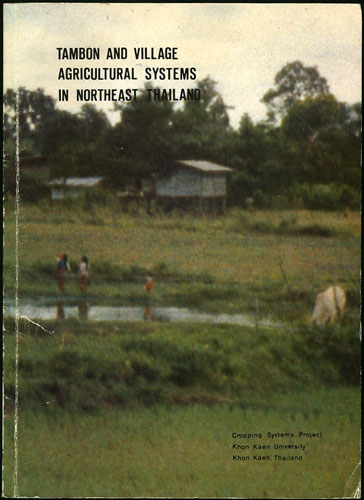Tambon and Village Agricultural Systems in Northeast Thailand. Report of a Workshop held at Khon Kaen University February 22-26, 1982. Terd KKU-FORD Cropping Systems Project. Charoenwatana.