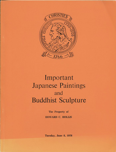 Important Japanese Paintings and Buddhist Sculpture and other Works of Art...June 8, 1976. Manson Christie, Woods.