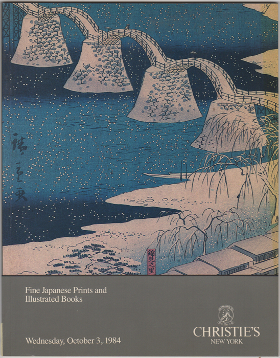 Fine Japanese Prints and Illustrated Books. October 3, 1984. Manson Christie, Woods.
