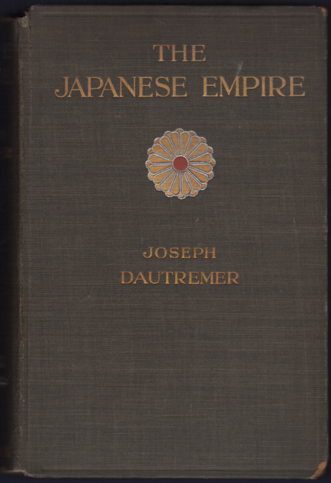 The Japanese Empire and its Economic Conditions. Joseph D'Autremer.