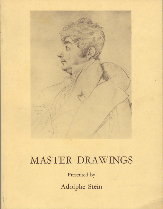 Master Drawings. March 9th - April 6th, 1977. Adolphe Stein.