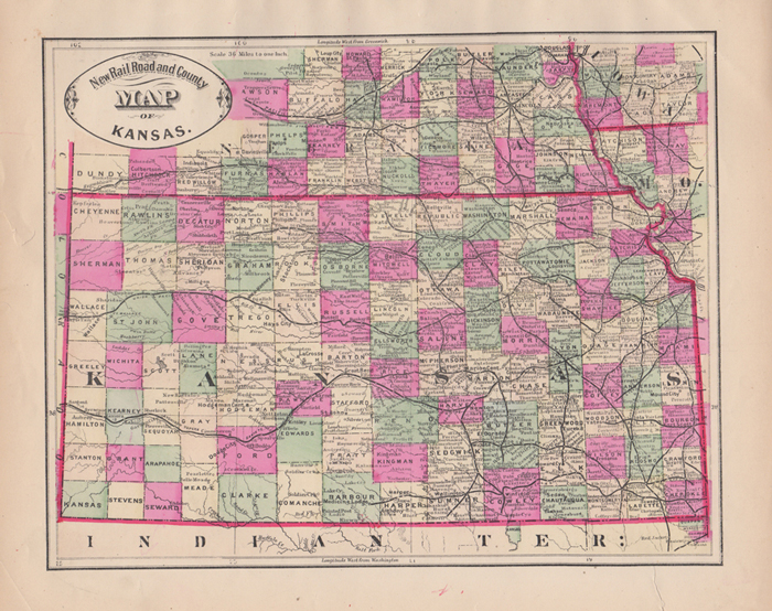 New Rail Road and County Map of Kansas by George F. Cram on Kaaterskill Kansas County Maps With Roads on kansas highway road map, kansas golf courses map, kansas major cities map airports, kansas ghost towns map, kansas highway 70 map, kansas interstate highways, kansas counties and towns, kansas state map, kansas map cities towns,