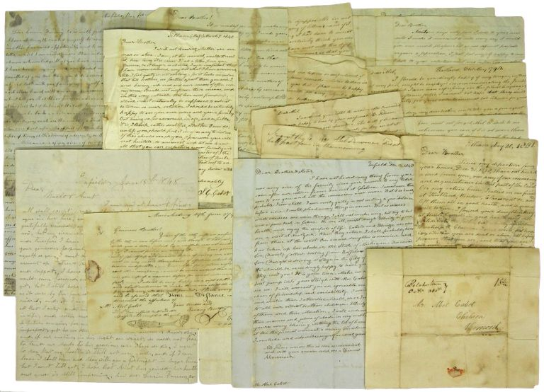 [Archive of] Letters from Rev. Sebastian Columbus Cabot, to His Brother, Abel Cabot. New Hampshire, Sebastian Cabot.