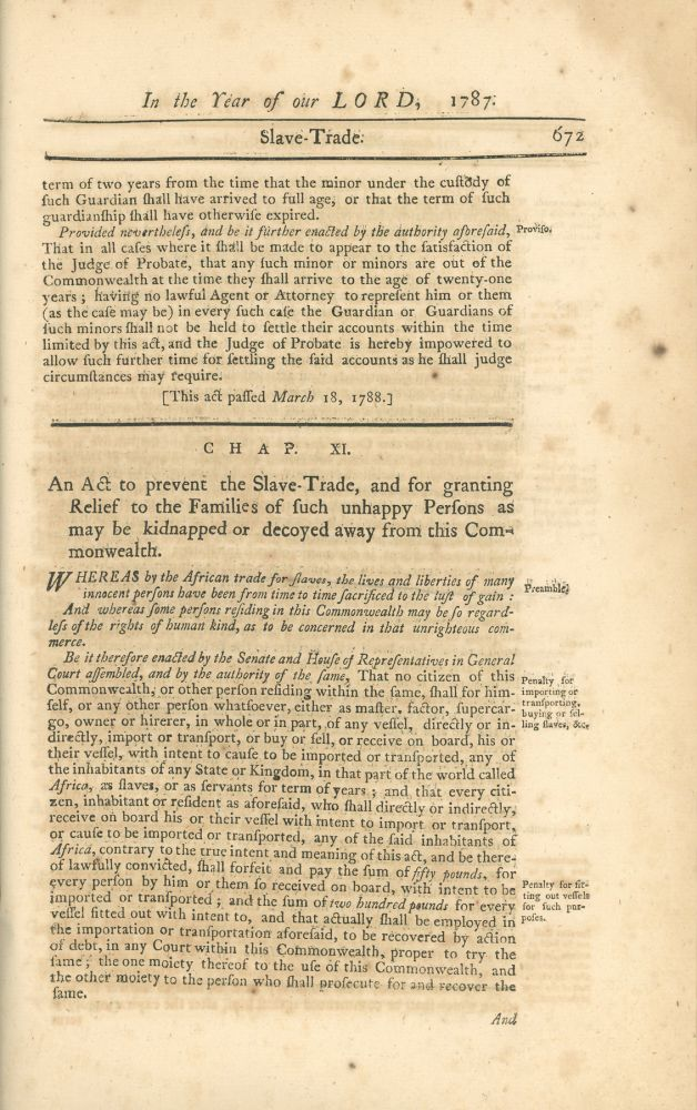 Acts and Laws, Passed by the General Court of Massachusetts; Begun and Held at Boston, in the County of Suffolk, on Wednesday the Thirty-first day of May, A.D. 1787 [bound with] Acts and Laws, Passed by the General Court of Massachusetts; Begun and Held at Boston, in the County of Suffolk, on Wednesday the Thirty-first day of May, A.D. 1787, and from thence continued, by Adjournment, to Wednesday, the seventeenth Day of October following [bound with] Acts and Laws, Passed by the General Court of Massachusetts; Begun and Held at Boston, in the County of Suffolk, on Wednesday the Thirty-first day of May, A.D. 1787, and from thence continued, by Adjournment, to Wednesday, the twenty-seventh Day of February following. Massachusetts.