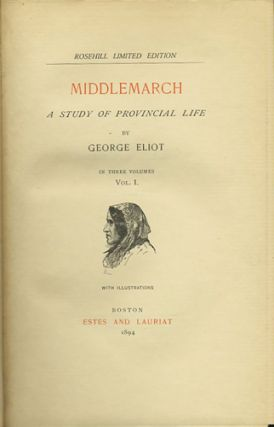 George Eliot's Works. [24 Volumes Complete]. George Eliot, pseud. Mary Ann Evans