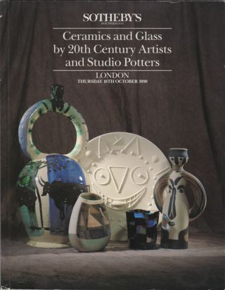 Ceramics and Glass by 20th Century Artists and Studio Potters. Thursday 18th October 1990. Sotheby's