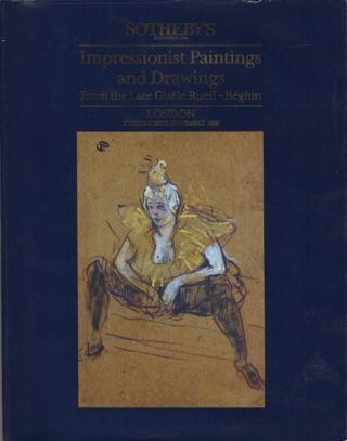Impressionist Painting and Drawing From the Late Gisele Rueff-Beghin. London. Tuesday 29th...