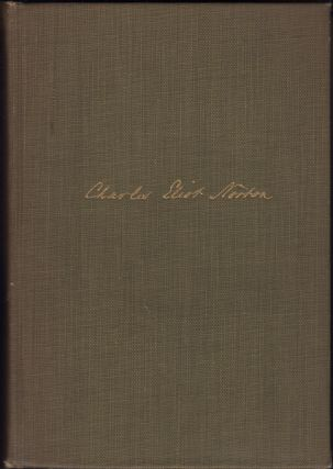 The Letters of Charles Eliot Norton. Two Volumes. Charles Eliot Norton