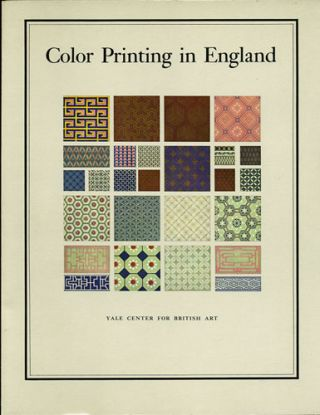 Color Printing in England, 1468-1870. Joan M. Friedman.