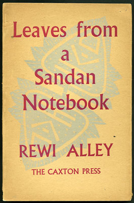 Leaves from a Sandan Notebook. Rewi Alley