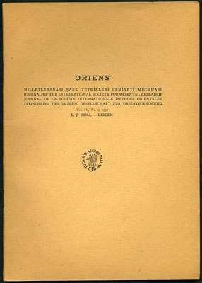 """A Bibliography of Near and Middle Eastern Studies Published in the Soviet Union from 1937 to..."