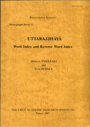 Uttarajjhaya. Word Index and Reverse Word Index. Moriichi Yamazaki, Yumi Ousaka