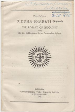 """Kirti: Its Connotation,"" [Reprinted from] Siddha-Bharati or the Rosary of Indology being the Dr...."