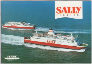 Sally Line (Ferries). Geoffrey Breeze