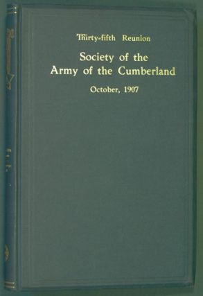 Society of the Army of the Cumberland, Thirty-Fifth Reunion, Chattanooga, Tenn., October 16, 17,...