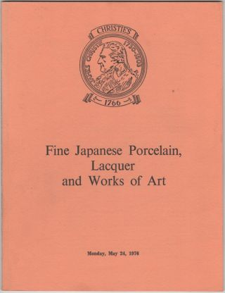 Fine Japanese Porcelain, Lacquer and Works of Art. Japanese Porcelain, Pottery, Lacquer, Screens,...