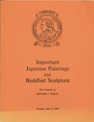 Important Japanese Paintings and Buddhist Sculpture and other Works of Art...June 8, 1976. Manson...