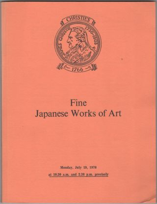Fine Japanese Works of Art. Japanese Ceramics, Ivory Carvings, Netsuke, Inro, Lacquer, Bronzes,...