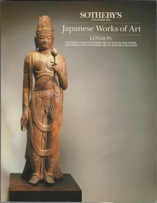 Japanese Works of Art. 12 November and 13 November, 1987. Sotheby Parke Bernet, Co