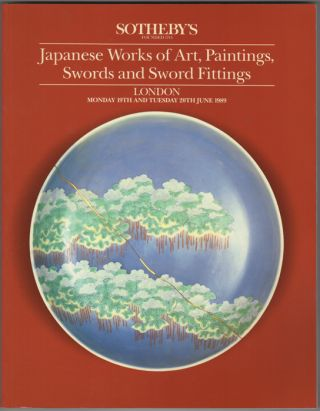 Japanese Works of Art, Paintings, Swords and Sword Fittings. 20 June, 1989. Sotheby Parke Bernet, Co