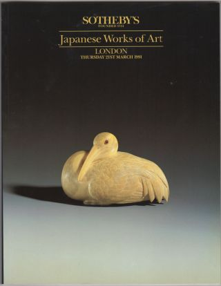 Japanese Works of Art. 21 March, 1991. Sotheby Parke Bernet, Co
