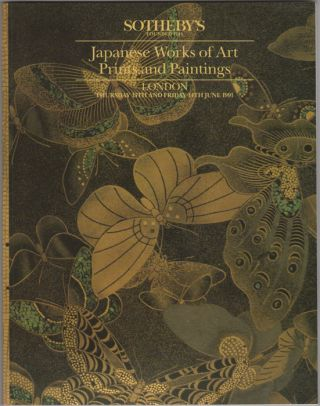 Japanese Works of Art, Prints and Paintings. 14 June, 1991. Sotheby Parke Bernet, Co