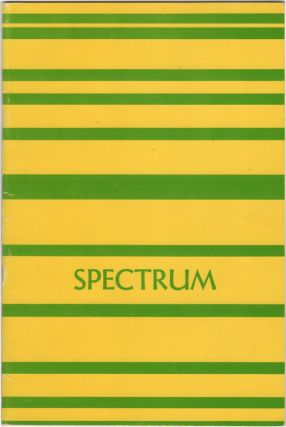 Spectrum. Volume I. Fall 1965. Undergraduate Literary Magazine Northeastern University. Donald Bates, ed.