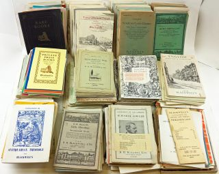 Collection of 250 Catalogues of Rare, Used, and New Books from Blackwell's. Blackwell's, B. H....
