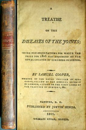 A Treatise on the Diseases of the Joints; being the Observations for Which the Prize for 1806 was...