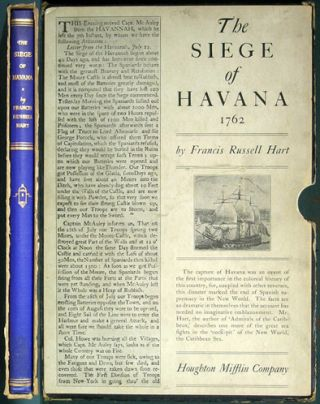 The Siege of Havana 1762. Francis Russell Hart.