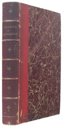 Catalogue of the Spanish Library and of the Portuguese Books bequeathed by George Ticknor to the...