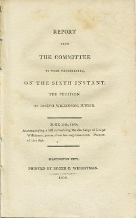 Report from the committee to whom was referred, on the sixth instant, the petition of Joseph...