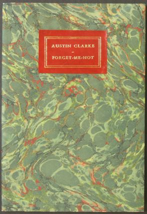 Forget-Me-Not. Austin Clarke.