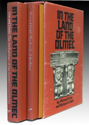 In the Land of the Olmec. [Two Volumes]. Michael D. Coe, Richard A. Diehl
