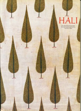 Hali. The International Journal of Oriental Carpets and Textiles. Vol. 6 No. 1-4, 1983-1984....