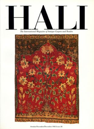 Hali. The International Journal of Oriental Carpets and Textiles. Vol. 7 No. 4, 1985. Issue 28....