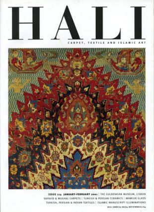 Hali. Carpet, Textile and Islamic Art. Issue 114. January-February 2001. Daniel Shaffer, ed
