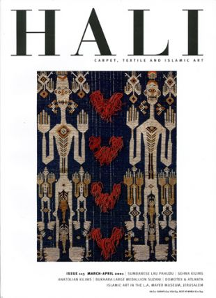 Hali. Carpet, Textile and Islamic Art. Issue 115. March-April 2001. Daniel Shaffer, ed
