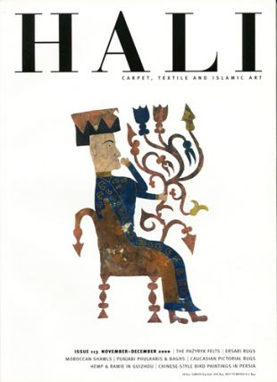 Hali. Carpet, Textile and Islamic Art. Issue 113. November-December 2000. Daniel Shaffer, ed