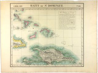Amer. Sep. Haiti ou St. Domingue. No. 68. [with] Curacao. No. 74. Philippe Vandermaelen