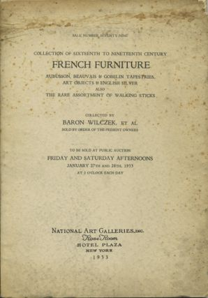 Sixteenth to nineteenth century French furniture, Aubusson, Beauvais & Gobelin tapestries, art...