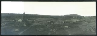 Photograph]. Construction of the Yale Bowl. Yale University