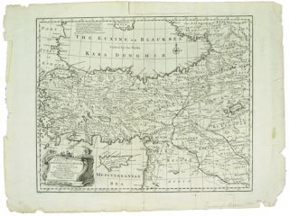 Map] A New and Accurate Map of Anatolia or Asia Minor. Emanuel Bowen