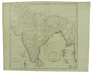 An Accurate Map of Hindostan or India, from the best authorities. J.T. Scott Sculp. Engraved for...
