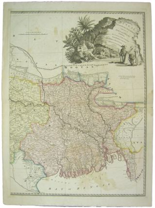 A Map of Bengal, Bahar, Oude & Allahabad: with part of Agra and Delhi, exhibiting the course of...