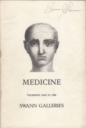 Medicine including the Reference Library of Lee Ash. May 19, 1988. Sale Number 1470. Lee. Swann...