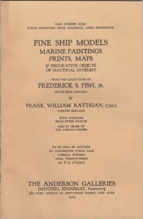 Fine Ship Models, Marine Paintings, Prints, Maps & Decorative Objects of Nautical Interest. From...